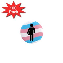 Transgender  1  Mini Magnets (100 Pack)  by Valentinaart