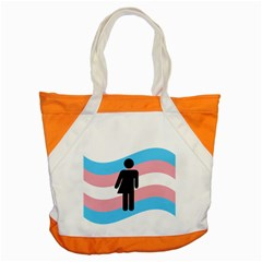 Transgender  Accent Tote Bag by Valentinaart