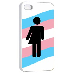Transgender  Apple Iphone 4/4s Seamless Case (white) by Valentinaart