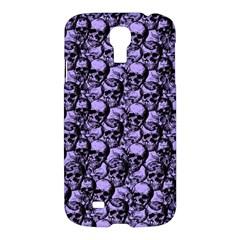 Skulls Pattern  Samsung Galaxy S4 I9500/i9505 Hardshell Case by Valentinaart