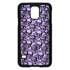 Skulls Pattern  Samsung Galaxy S5 Case (black) by Valentinaart