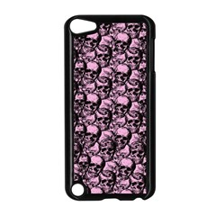 Skulls Pattern  Apple Ipod Touch 5 Case (black) by Valentinaart