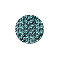 Skulls Pattern  Golf Ball Marker (10 Pack) by Valentinaart