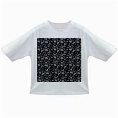 Skulls Pattern  Infant/toddler T Shirts by Valentinaart