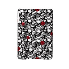 Skulls And Roses Pattern  Ipad Mini 2 Hardshell Cases by Valentinaart