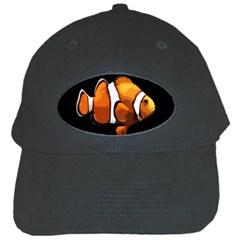 Clown Fish Black Cap by Valentinaart