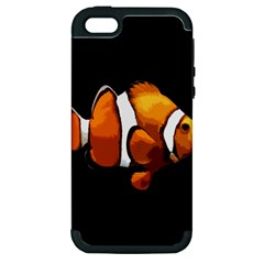 Clown Fish Apple Iphone 5 Hardshell Case (pc+silicone) by Valentinaart