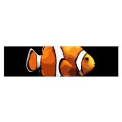 Clown Fish Satin Scarf (oblong) by Valentinaart