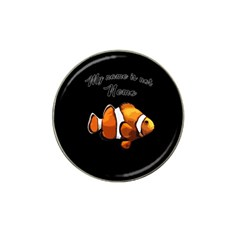 Clown Fish Hat Clip Ball Marker by Valentinaart