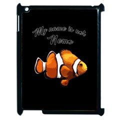 Clown Fish Apple Ipad 2 Case (black) by Valentinaart