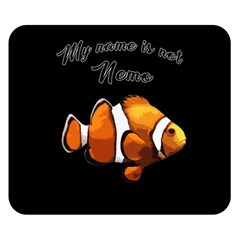 Clown Fish Double Sided Flano Blanket (small)  by Valentinaart