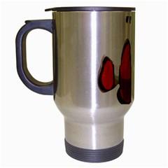 Clown Fish Travel Mug (silver Gray) by Valentinaart