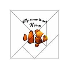 Clown Fish Acrylic Tangram Puzzle (4  X 4 ) by Valentinaart