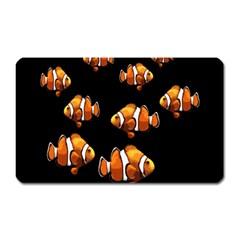 Clown Fish Magnet (rectangular) by Valentinaart