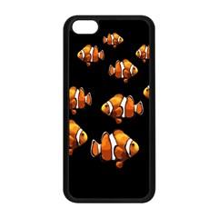 Clown Fish Apple Iphone 5c Seamless Case (black) by Valentinaart