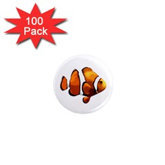 Clown Fish 1  Mini Magnets (100 Pack)  by Valentinaart