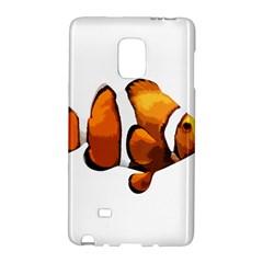 Clown Fish Galaxy Note Edge by Valentinaart