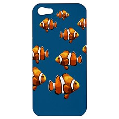 Clown Fish Apple Iphone 5 Hardshell Case by Valentinaart