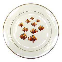 Clown Fish Porcelain Plates by Valentinaart