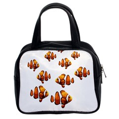 Clown Fish Classic Handbags (2 Sides) by Valentinaart