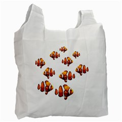 Clown Fish Recycle Bag (one Side) by Valentinaart