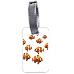 Clown Fish Luggage Tags (two Sides) by Valentinaart