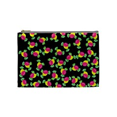 Candy Pattern Cosmetic Bag (medium)  by Valentinaart
