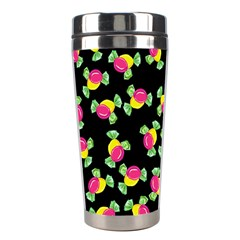 Candy Pattern Stainless Steel Travel Tumblers by Valentinaart