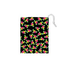 Candy Pattern Drawstring Pouches (xs)  by Valentinaart