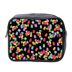 Candy Pattern Mini Toiletries Bag 2 Side by Valentinaart