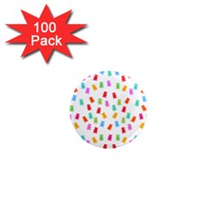 Candy Pattern 1  Mini Magnets (100 Pack)  by Valentinaart