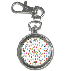 Candy pattern Key Chain Watches