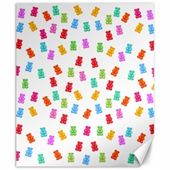 Candy Pattern Canvas 8  X 10  by Valentinaart