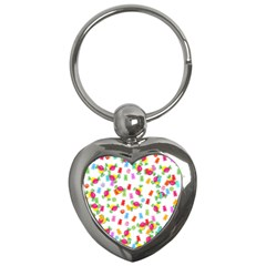 Candy Pattern Key Chains (heart)  by Valentinaart