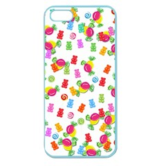 Candy Pattern Apple Seamless Iphone 5 Case (color) by Valentinaart