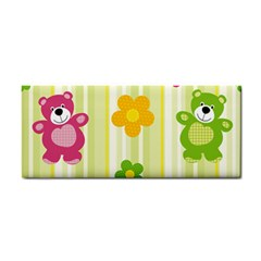 Animals Bear Flower Floral Line Red Green Pink Yellow Sunflower Star Cosmetic Storage Cases by Mariart