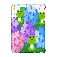 Animals Frog Face Mask Green Flower Floral Star Leaf Music Apple Ipad Mini Hardshell Case (compatible With Smart Cover) by Mariart