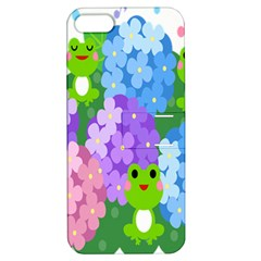 Animals Frog Face Mask Green Flower Floral Star Leaf Music Apple Iphone 5 Hardshell Case With Stand by Mariart