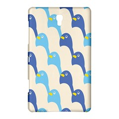Animals Penguin Ice Blue White Cool Bird Samsung Galaxy Tab S (8 4 ) Hardshell Case  by Mariart