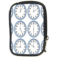 Alarm Clock Hour Circle Compact Camera Cases by Mariart