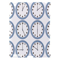 Alarm Clock Hour Circle Apple Ipad 3/4 Hardshell Case (compatible With Smart Cover) by Mariart