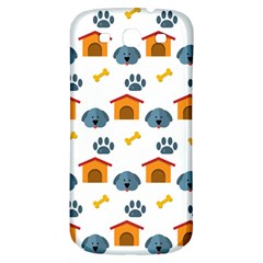 Bone House Face Dog Samsung Galaxy S3 S Iii Classic Hardshell Back Case by Mariart