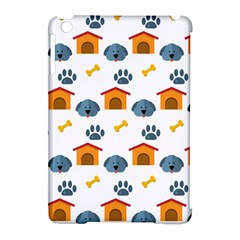 Bone House Face Dog Apple Ipad Mini Hardshell Case (compatible With Smart Cover) by Mariart