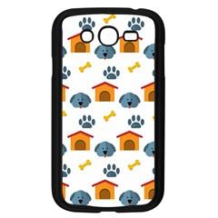 Bone House Face Dog Samsung Galaxy Grand Duos I9082 Case (black) by Mariart