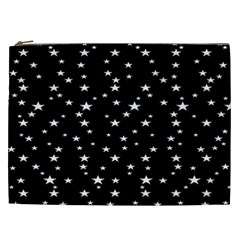 Black Star Space Cosmetic Bag (xxl)  by Mariart