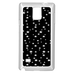 Black Star Space Samsung Galaxy Note 4 Case (white) by Mariart