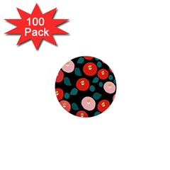 Candy Sugar Red Pink Blue Black Circle 1  Mini Buttons (100 Pack)  by Mariart