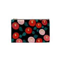 Candy Sugar Red Pink Blue Black Circle Cosmetic Bag (small)  by Mariart