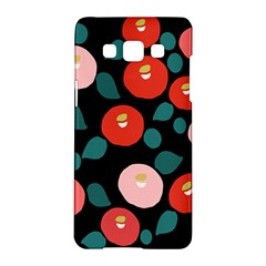 Candy Sugar Red Pink Blue Black Circle Samsung Galaxy A5 Hardshell Case  by Mariart
