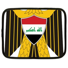 Coat Of Arms Of Iraq  Netbook Case (xl)  by abbeyz71